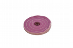 "Buffing Wheel, 6"" x 1/2"", Triple Stitched, Lilac Purple. X8134"